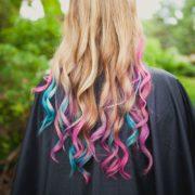 Barevné křídy na vlasy