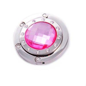 Háček na kabelku - růžový