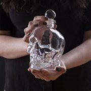 Karafa křišťálová lebka 700 ml