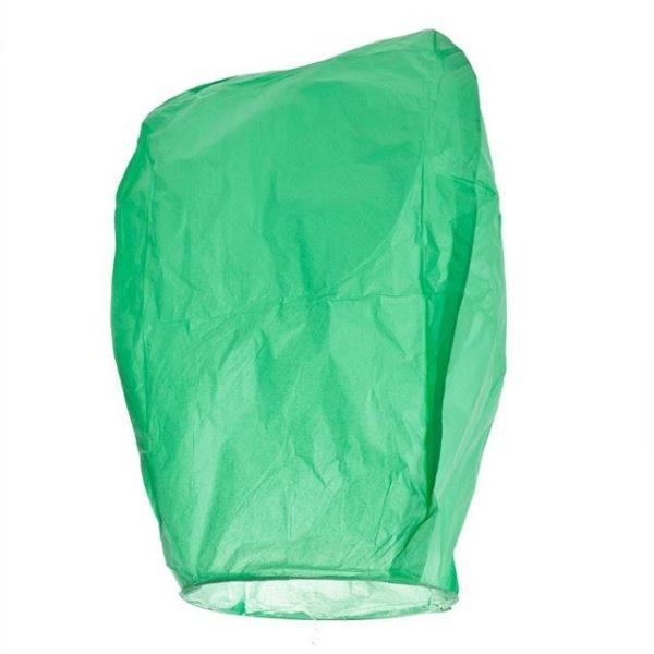 Lampion štěstí - zelený