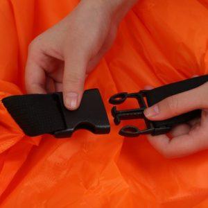Nafukovací vak Lazy bag jednovrstvý - oranžový