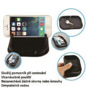 Nanopodložka s držákem na telefon