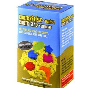 Tekutý kinetický písek - malý set (500 g)