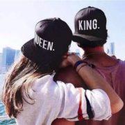 Párová čepice King and Queen