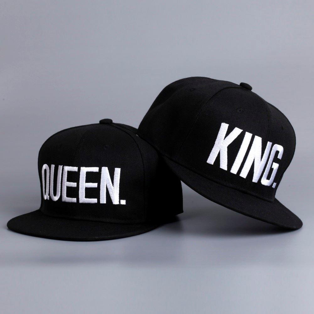 70f5995e520 Párová čepice King and Queen - Dárek
