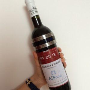 Teploměr na víno