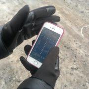 Dotykové rukavice - M