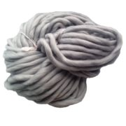 Příze pro ruční pletení - šedá