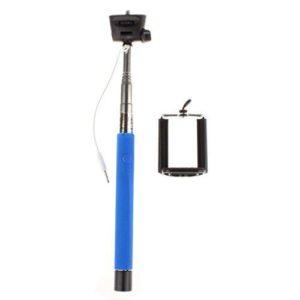Selfie tyč s tlačítkem na rukojetí