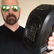 Teplovzdušný ventilátor