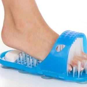 Čistící pantofle do koupelny