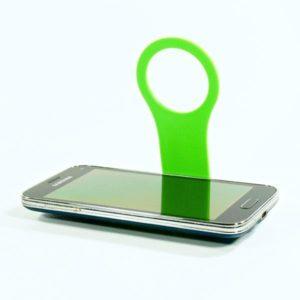 Držák mobilu - zelený