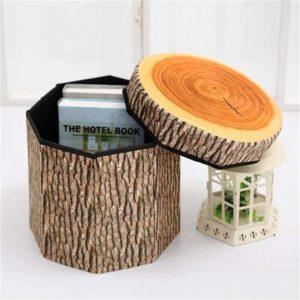 Taburet - dřevo