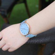 Hodinky měnící barvu - modré