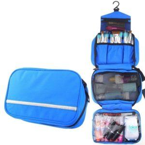 Cestovní organizér na kosmetiku - modrý