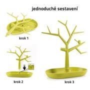 Strom na šperky - zelený