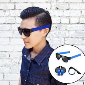 Skládací brýle - modré