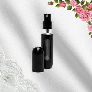 Elegantní rozprašovač na parfémy - černý