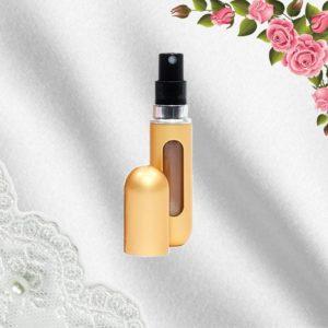 Elegantní rozprašovač na parfémy - zlatý