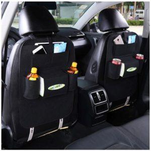 Pořadač na sedačku do auta - černý