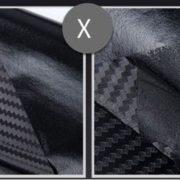 Karbonová fólie - černá