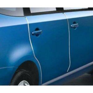 Ochranné lišty na auto - bílé