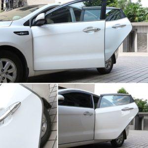 Ochranné lišty na auto - šedé