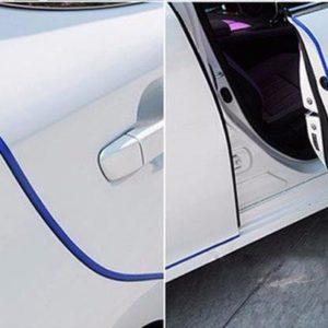 Ochranné lišty na auto - tmavě modré