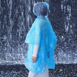 Pohotovostní pláštěnka - modrá