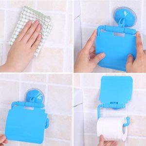 Držák toaletního papíru s přísavkou