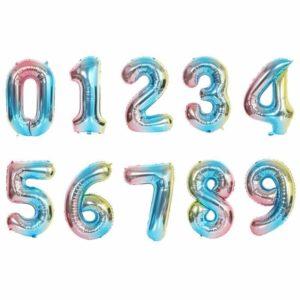 Nafukovací balónky čísla - 2