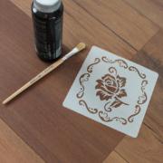 Šablona na malování - růže