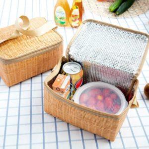 Košík na piknik s tepelnou izolací