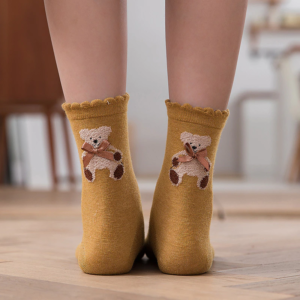 Ponožky s medvídkem
