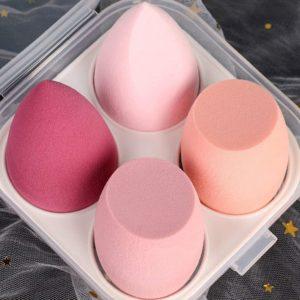 Houbičky na make-up 4 ks